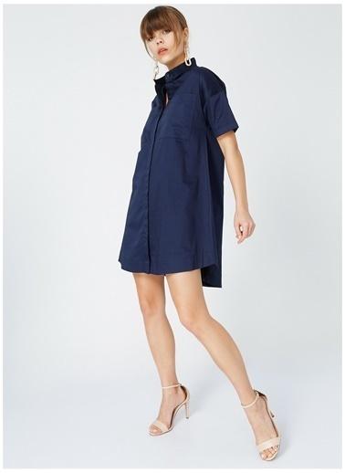 Fabrika Fabrika Kadın Lacivert Elbise Lacivert
